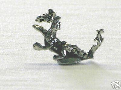 25 L Pewter Miniature Fire Dragon Mini Figurines USA HAND CAST USA LEAD FREE