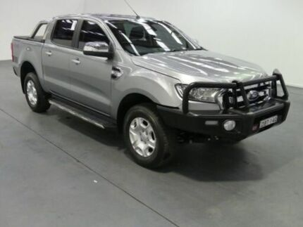 2016 Ford Ranger PX MkII XLT 3.2 (4x4) Silver 6 Speed Manual Dual Cab Utility