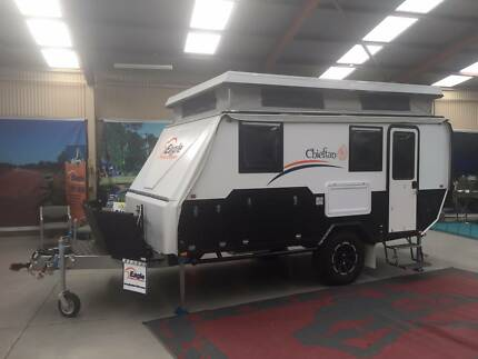 EAGLE CHIEFTAN OFF ROAD HYBRID CAMPER  SAVE $8,000