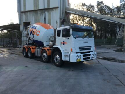 Concrete Truck city plant