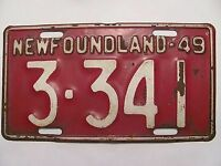 WANTED pre 1949 License Plates $100.00 each