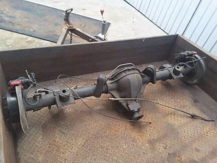 Torana LH diff conversion disc brake LSD hq stud pattern modified