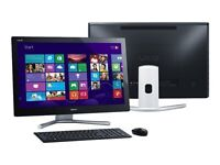 """Sony VAIO All-in-One 24 """" Black Touchscreen Desktop Computer - SVL24145CXB"""