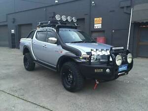 2007 Mitsubishi Triton GLX-R 4x4 3.2L LOADED WITH EXTRAS REG RWC West Footscray Maribyrnong Area Preview