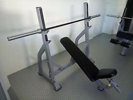 Impulse Fitness Commercial Incline chest bench as new