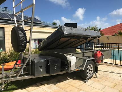 Pro Made Soft Floor Camper Trailer with generator and extras!
