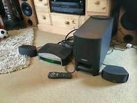 Bose 321 dvd home cinema surround sound system