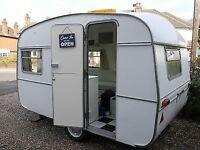 WANTED - 2 berth only caravan small old retro 1970s 80s 90s caravan