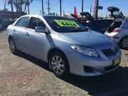 2008 Toyota Corolla ZRE152R Ascent Silver 4 Speed Automatic Sedan Lansvale Liverpool Area Preview