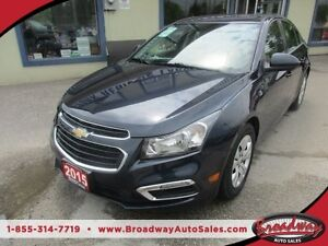 2015 Chevrolet Cruze WELL EQUIPPED LT-1 EDITION 5 PASSENGER 1.4L