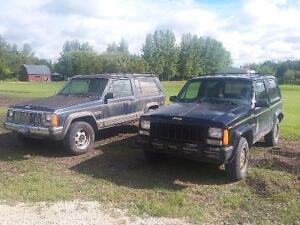 Selling 2 1988 2dr Jeep Cherokees 1 Limited, 1 Laredo