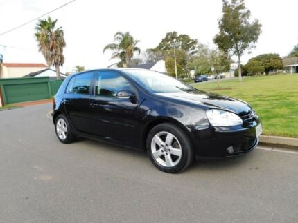 2009 Volkswagen Golf V MY09 Pacific Tiptronic Black 6 Speed Sports Automatic Hatchback