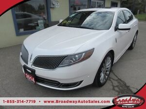 2014 Lincoln MKS LOADED AWD 5 PASSENGER 3.7L - V6 ENGINE.. LEATH