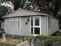 Twin Unit Chalet Type Residential Park Home on Semi Retired Park for over 50's