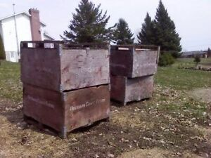 Apple bins