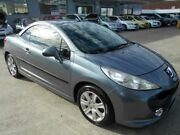 2007 Peugeot 207 CC 1.6 Grey 4 Speed Automatic Cabriolet Victoria Park Victoria Park Area Preview