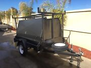 NEW 7 x 4 heavy duty single axle trailer with 750mm high tradesman top Swan Hill Swan Hill Area Preview