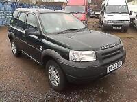 2003 Land Rover Freelander 1.8 Maasai Mara petrol manual