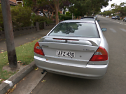 1999 Mitsubishi Lancer coupe Rego till January 2018 Homebush West Strathfield Area Preview