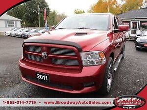 2011 Dodge Ram 1500 WORK READY SLT MODEL 5 PASSENGER 5.7L - HEMI