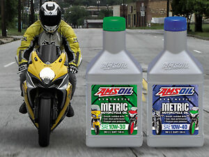 AMSOIL Synthetic Motorcycle Oils, Filters and More