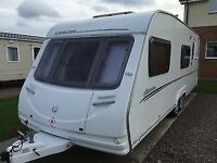 2008 STERLING EUROPA 600 TWIN AXLE - Excellent Condition - 6 Berth, CRiS Registered & Serviced