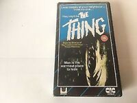 WANTED The Thing VHS