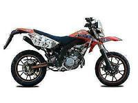 AJS JSM 50cc 2T -Aprilia Engine-New-SuperMoto- FREE OTR Charges