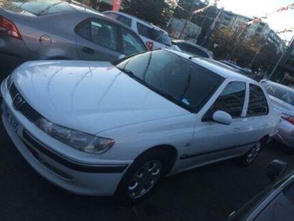2002 Peugeot 406 D9 ST HDI White 4 Speed 4 SP AUTOMATIC Sedan