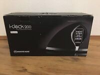 Monitor Audio i-Deck 200 iPod iPhone iPad Docking Speaker - Brand New!