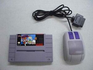 SNES - Mario paint with Mouse & board - Used - Good condition