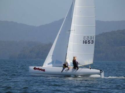 FOR SALE Nacra 5.8 Sail Number 1653