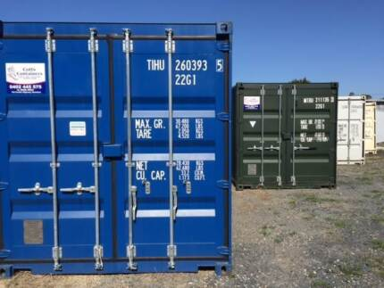 New 20' Shipping Containers - Coffs Harbour