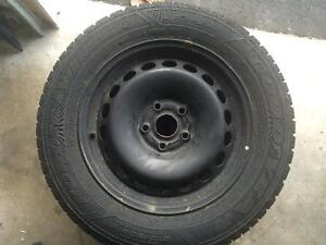 VW Steel rims and tires
