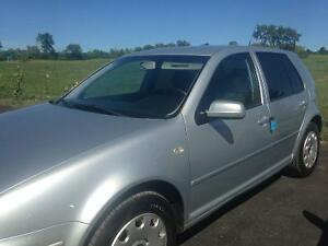2006 VW GOLF 2.0L GAS. AUTO TRANS. 177,000KM $3600 CERT.