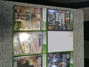 XBOX 360,2 CONTROLLERS, 8 GAMES, HEADSET ,CHATPAD, ALL WIRES Cambridge Kitchener Area image 3