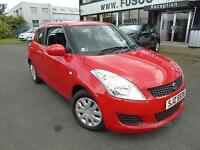 2011 Suzuki Swift 1.2 SZ2 - Red - Long MOT 2017 + Platinum Warranty!