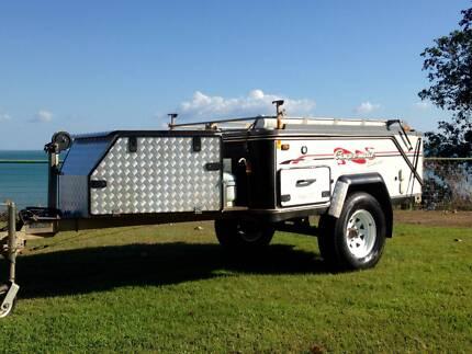 Campomatic Hard Floor Heavy Duty Off Road Camper Trailer