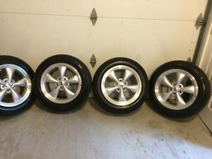 Mustang tires and rims