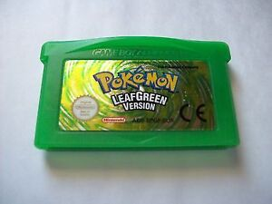 Pokemon green leaf