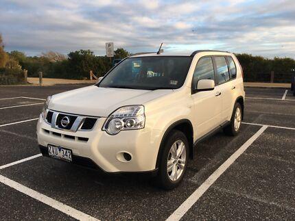 2012 Nissan X-trail Pearl White Wagon ST FWD T31 2.0L - LOW KMS