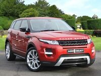 2012 RANGE ROVER EVOQUE DYNAMIC WITH PLUS PACK SD4 190HP 4X4 PANROOF TV/DVD CAMERA SATNAV TOP SPECK