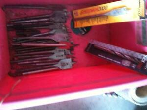 Various Size Wood Drills in Excellent Condition