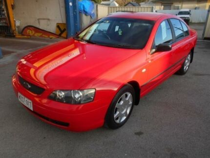 2003 Ford Falcon BA XT (LPG) Red 4 Speed Auto Seq Sportshift Sedan