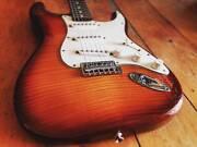 Fender Stratocaster - Tiger Maple - MIM - Hardcase Brunswick Heads Byron Area Preview