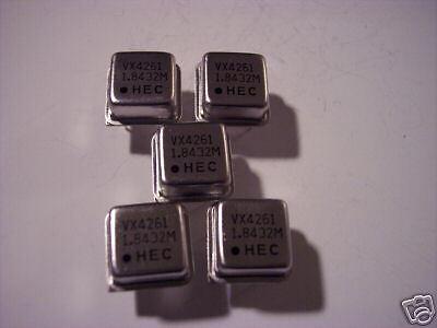Hec 1.8432 Mhz Crystal Oscillator 5 Pieces