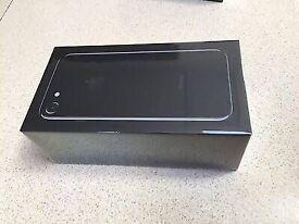 Iphone 7 jet black 128gb brandnew seald pack