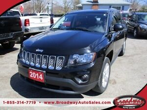 2014 Jeep Compass POWER EQUIPPED NORTH EDITION 5 PASSENGER 2.4L