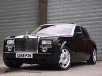 Rolls-Royce Phantom Hire & Chauffeur