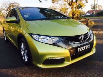 2012 HONDA CIVIC VTI-S MANUAL ONLY 32,000km